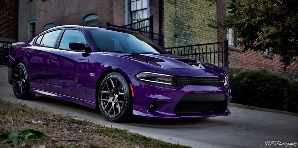 Plum Crazy Purple 2016 Dodge Charger R/T Scat Pack