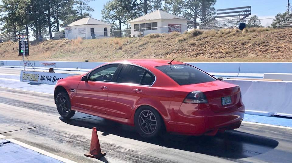 Red 2009 Pontiac G8 All Motor FTW