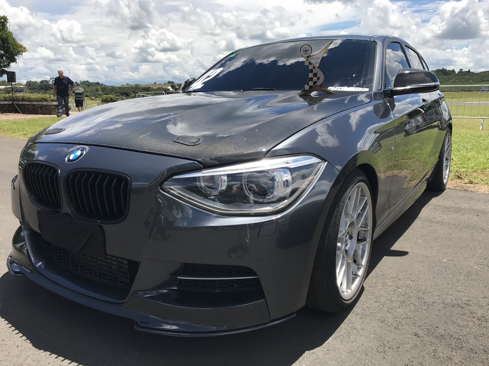 2015 Mineral Gray BMW M135i  picture, mods, upgrades
