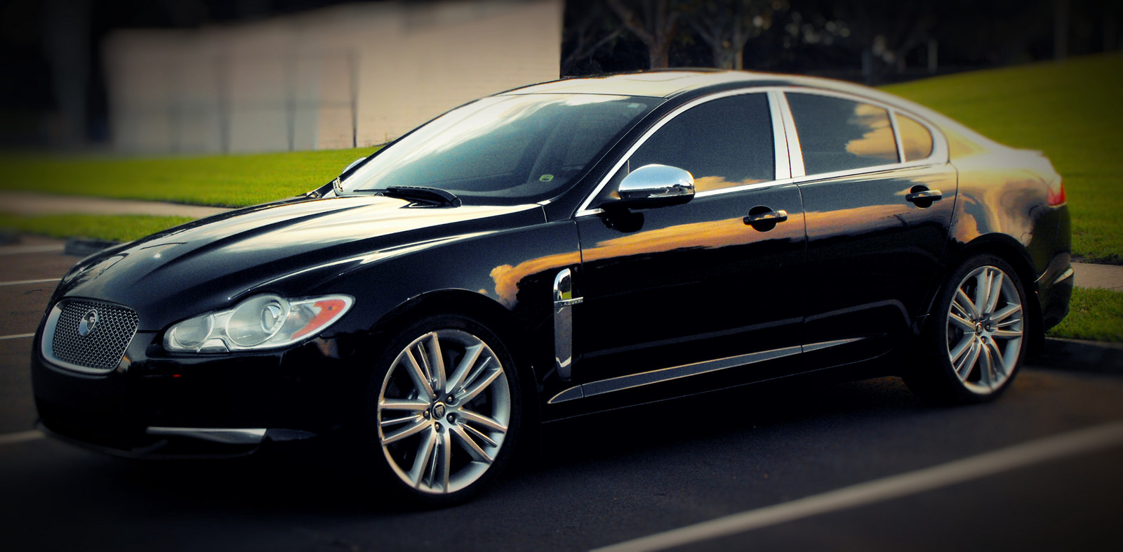 2011 Ultimate Black Jaguar XF Supercharged picture, mods, upgrades