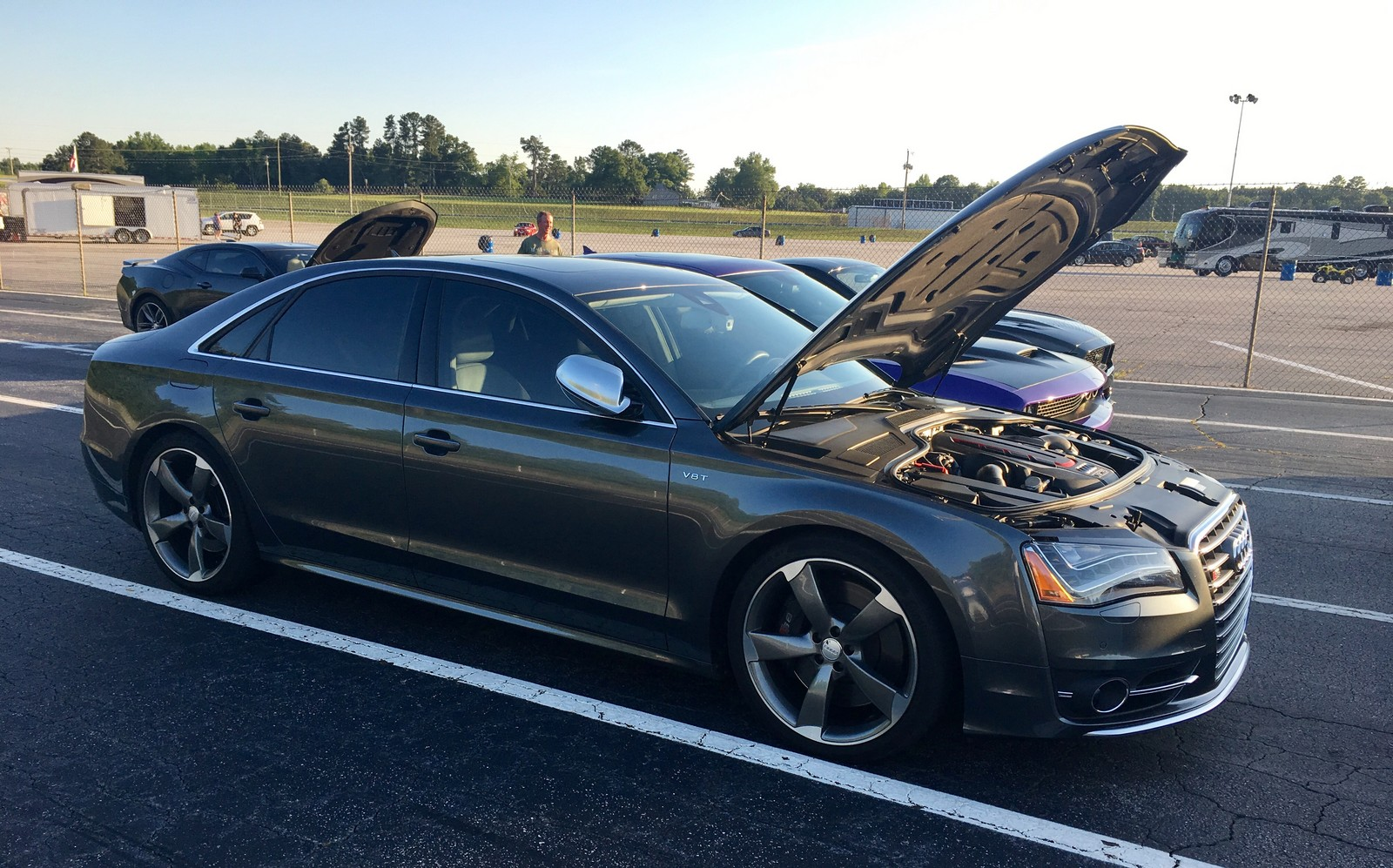 2014 Grey Audi S8  picture, mods, upgrades