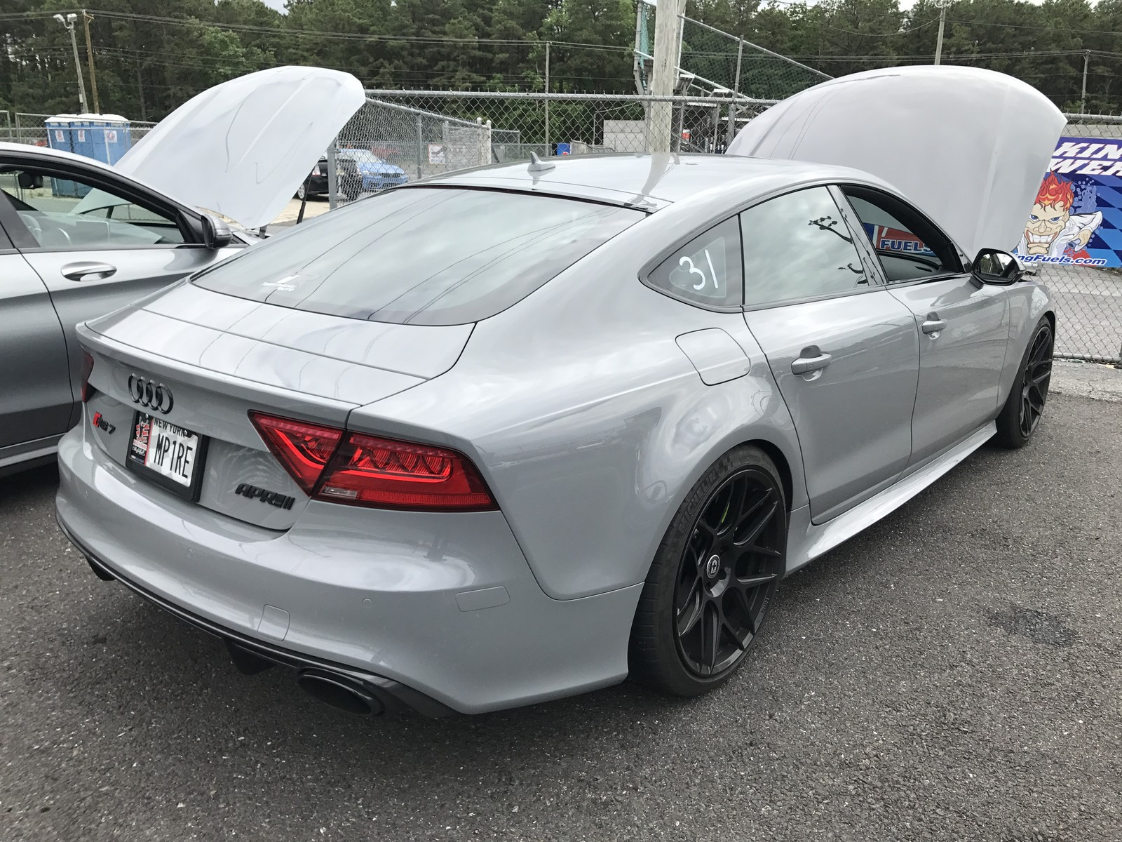 Nardo Grey 2015 Audi RS-7 APR