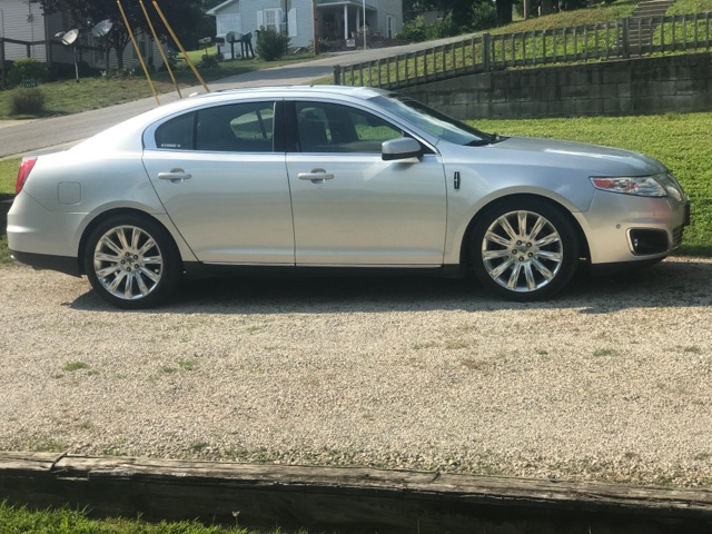2010 silver Lincoln MKS 3.5 ecoboost picture, mods, upgrades