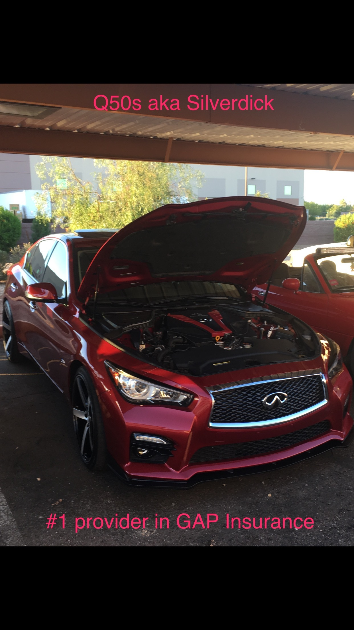2016 Red Infiniti Q50 Silver Sport picture, mods, upgrades