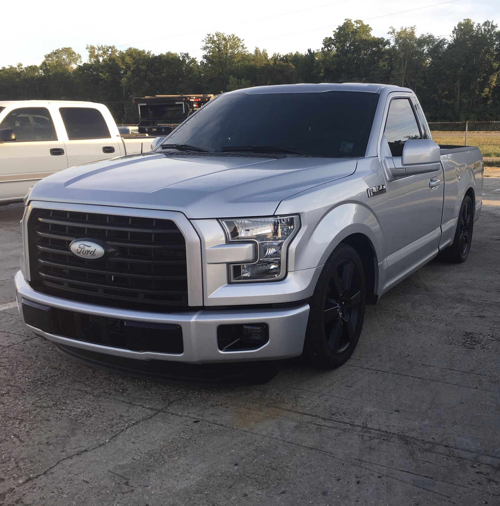 Silver 2016 Ford F150 XL 2WD