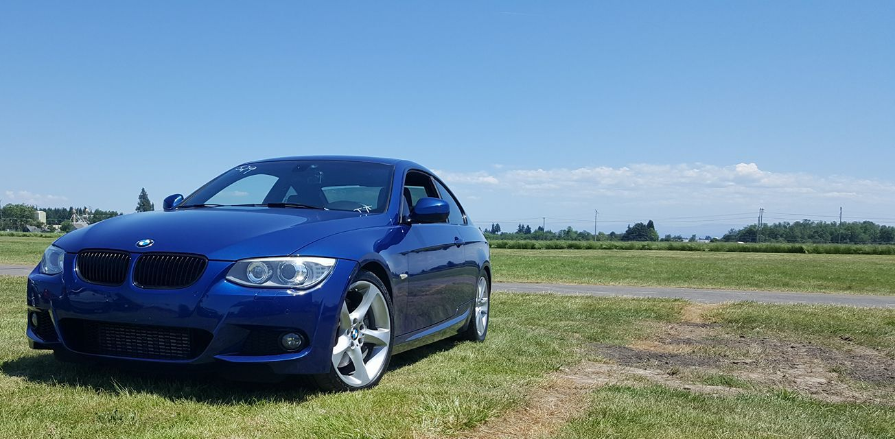 Lemans Blue 2011 BMW 335i e92