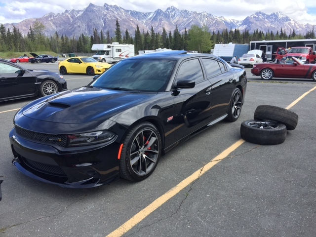 2017 Black Dodge Charger R/T Scat Pack picture, mods, upgrades