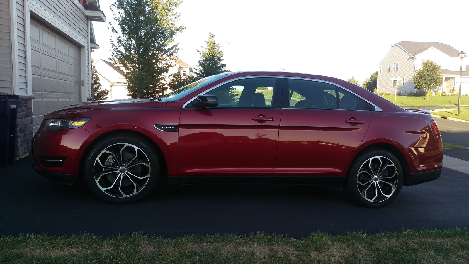 2015 Ruby Red Ford Taurus SHO picture, mods, upgrades