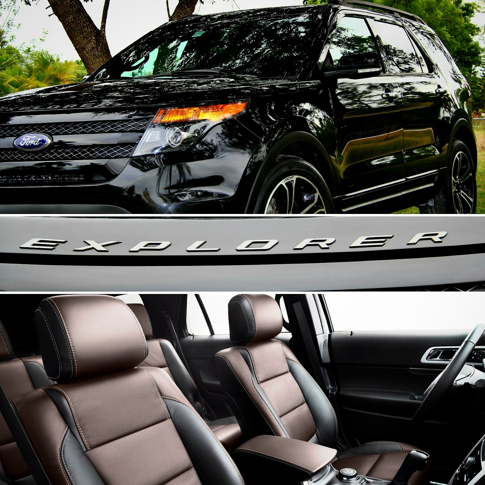Black 2014 Ford Explorer Sport