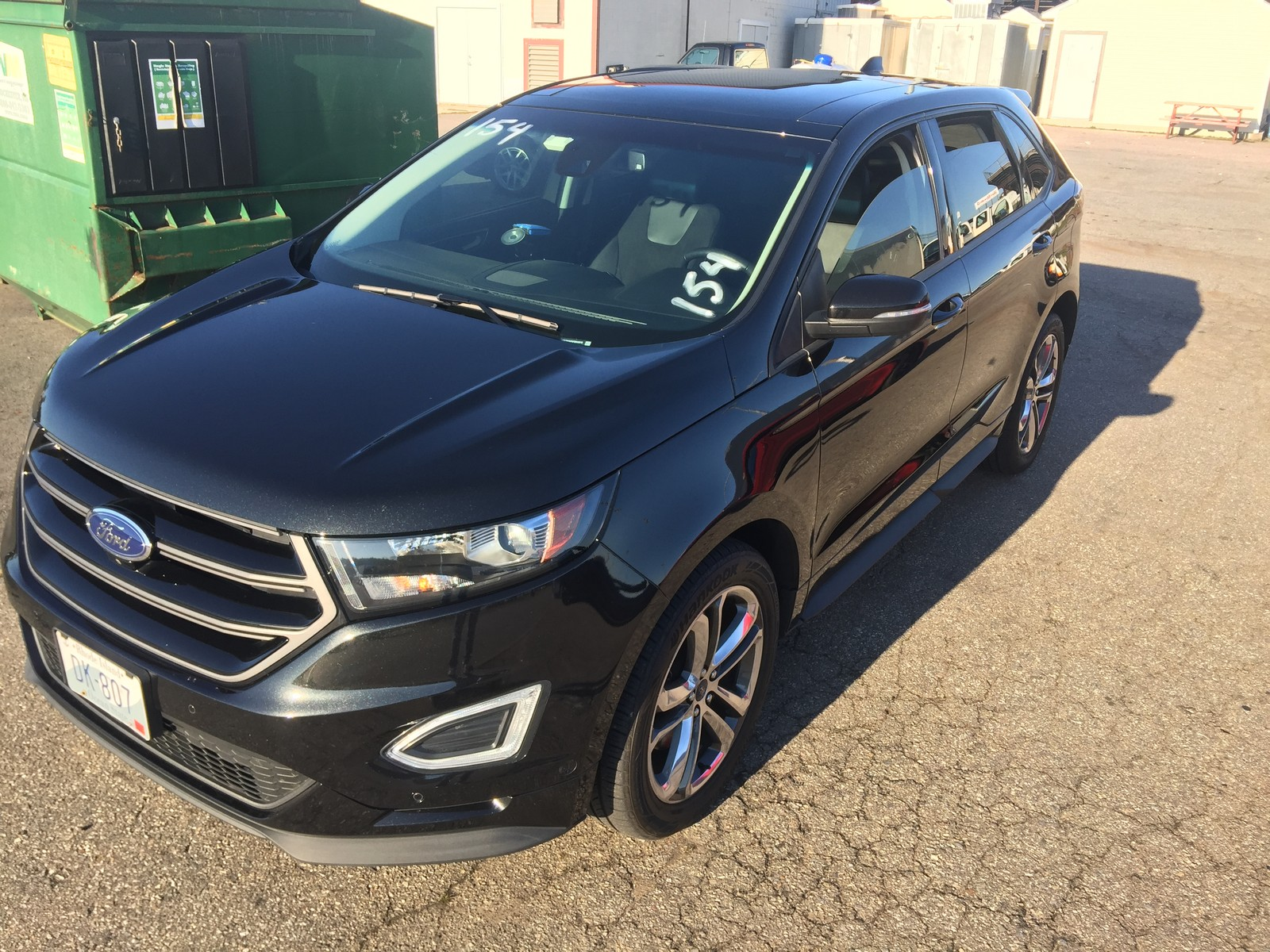 Black 2015 Ford Edge Sport AWD - 93