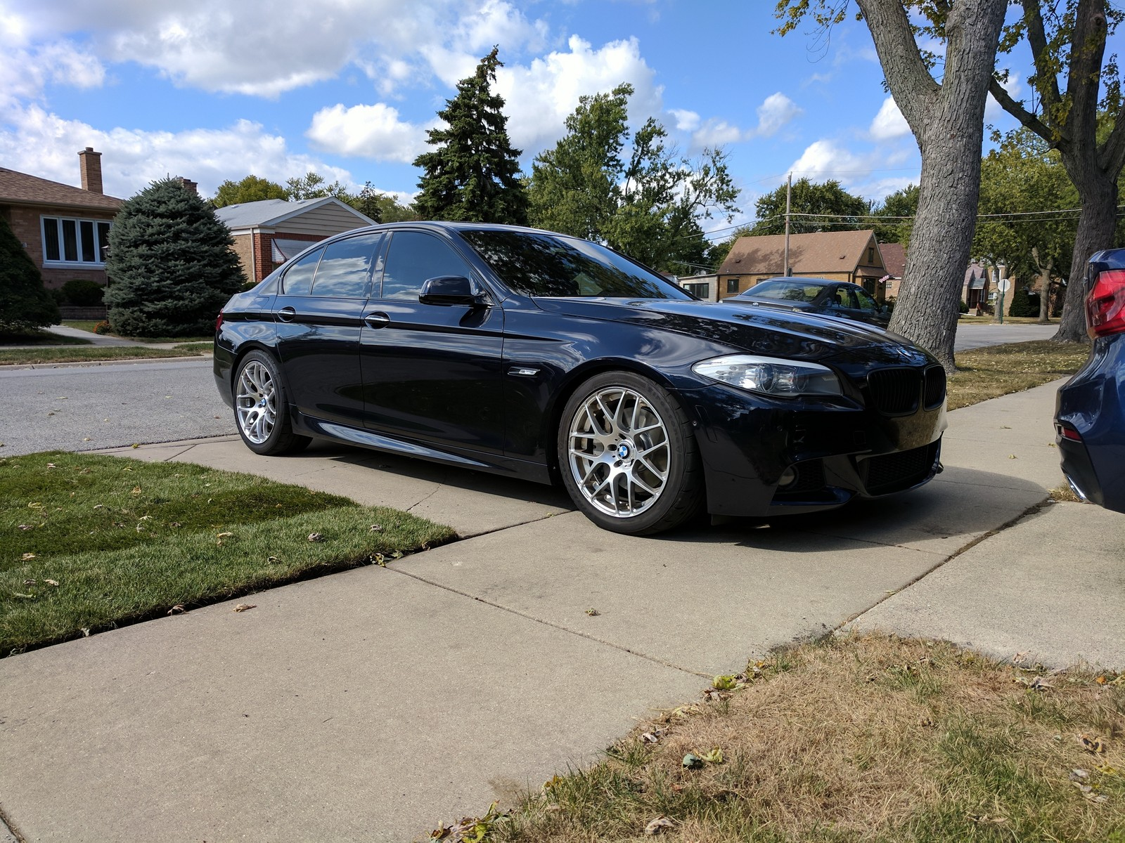 Carbon Black 2013 BMW 550i xdrive