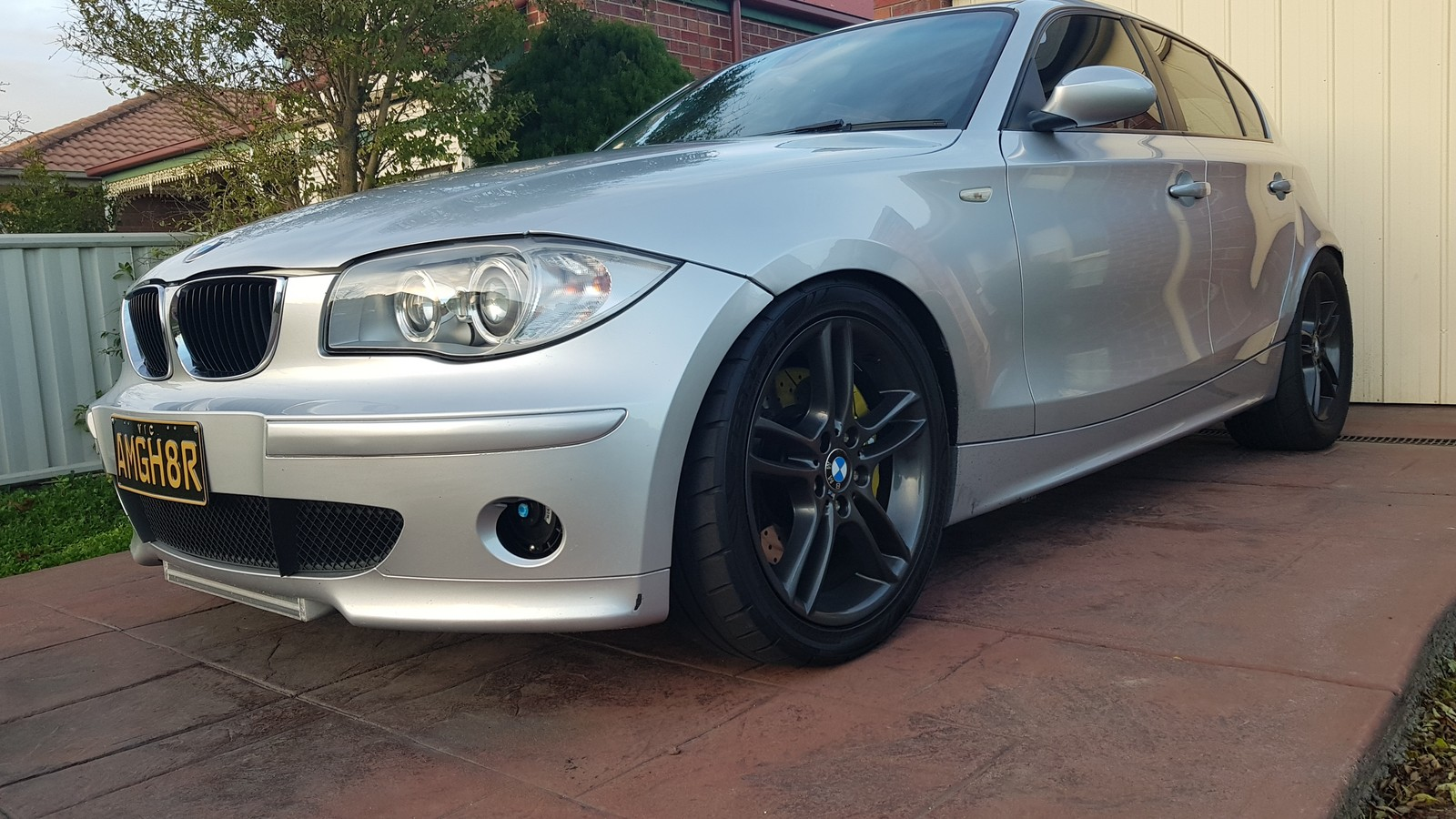 2004 Silver BMW 120i  picture, mods, upgrades