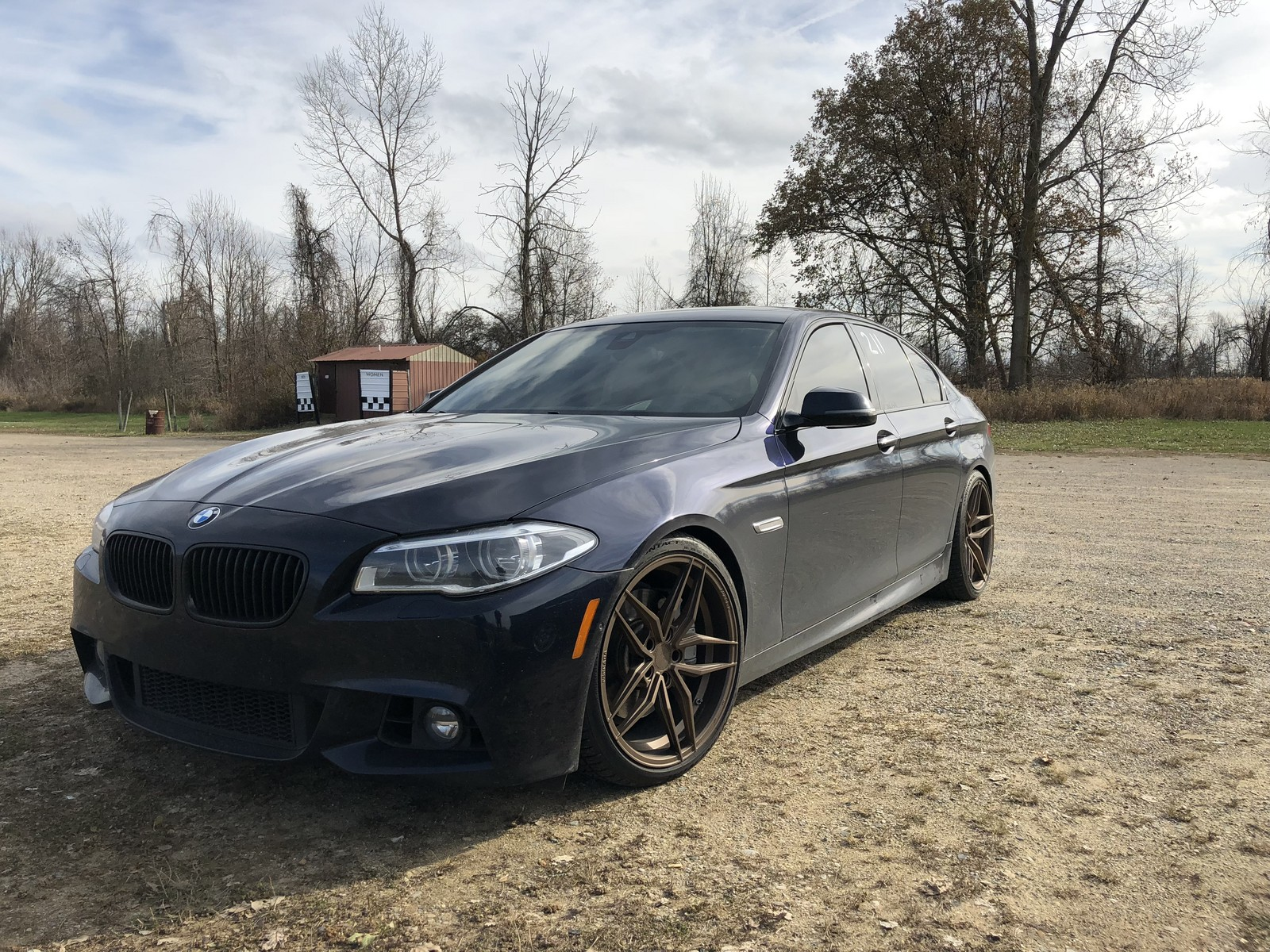 2014 Imperial blue metallic BMW 550i XDrive picture, mods, upgrades