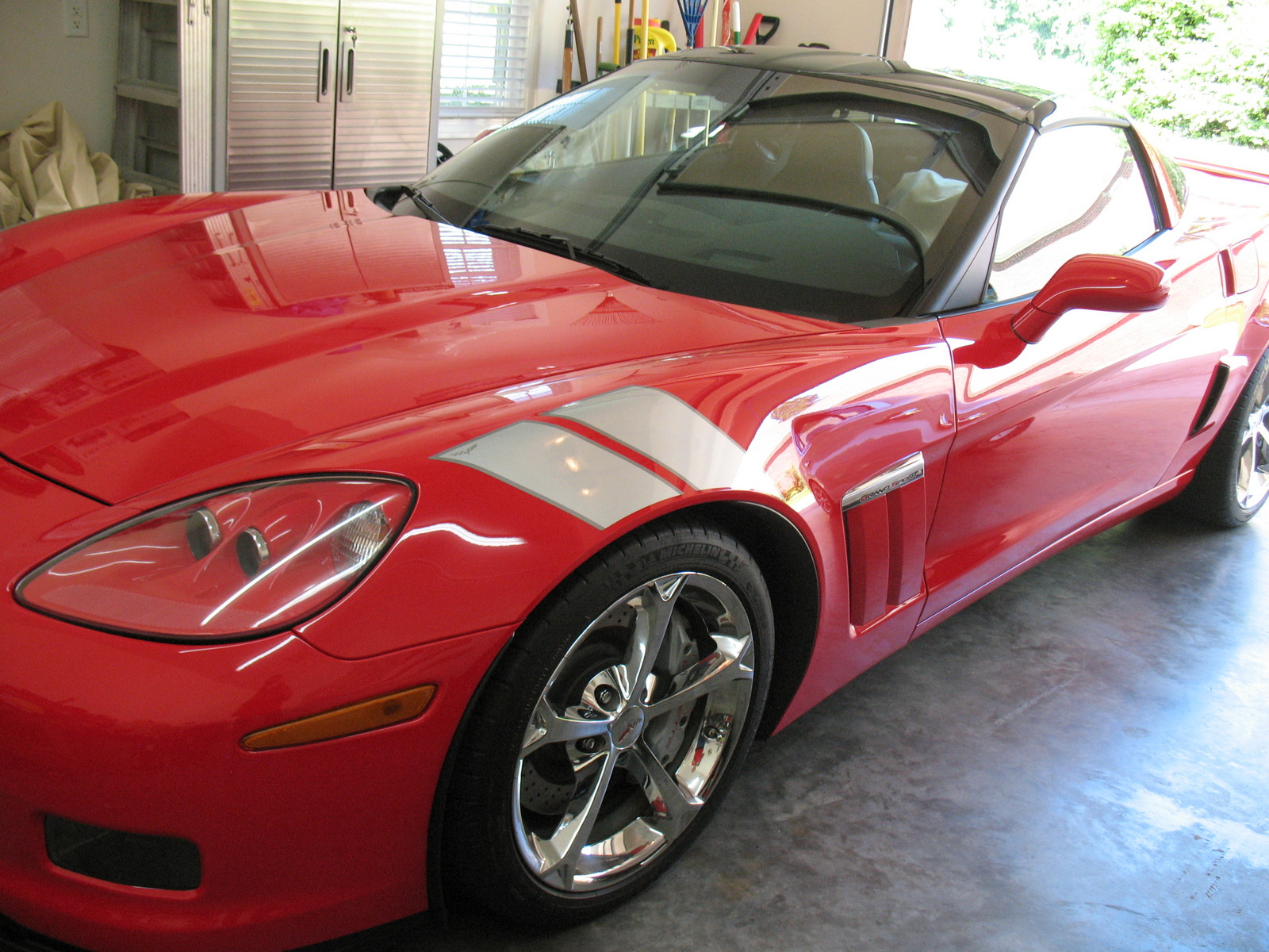 2010 Torch Red Chevrolet Corvette Grand Sport picture, mods, upgrades