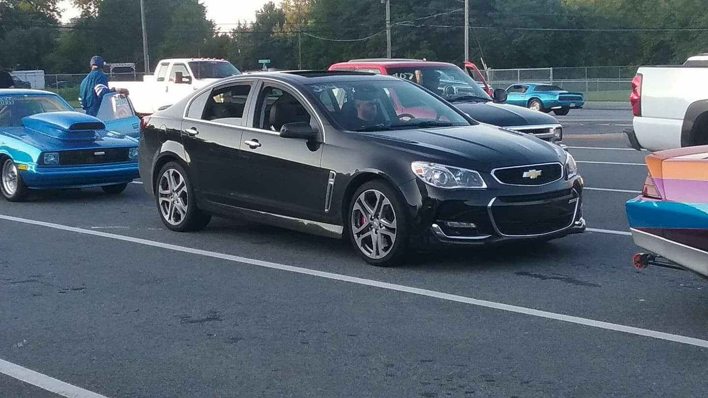 2016 Black Chevrolet SS  picture, mods, upgrades