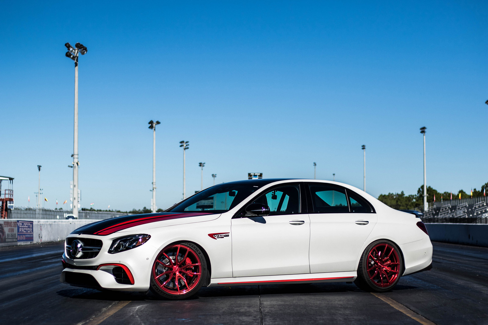 2018 White Mercedes-Benz E63 AMG S 4MATIC+ picture, mods, upgrades