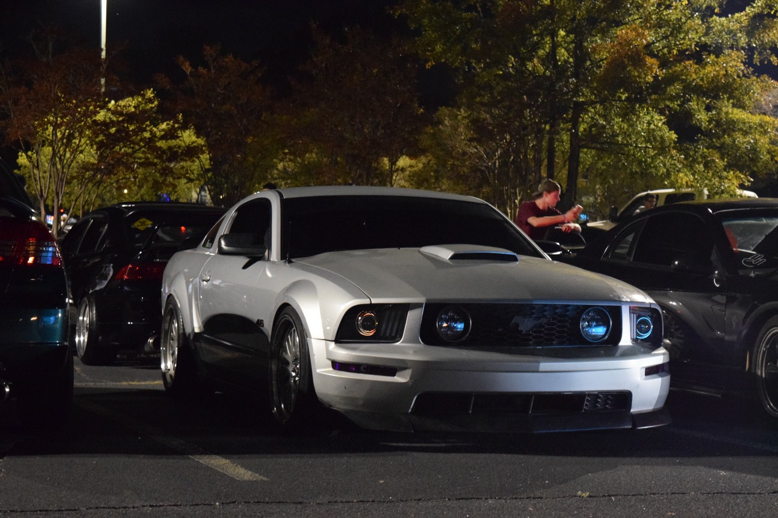 2007 Silver Ford Mustang Gt picture, mods, upgrades