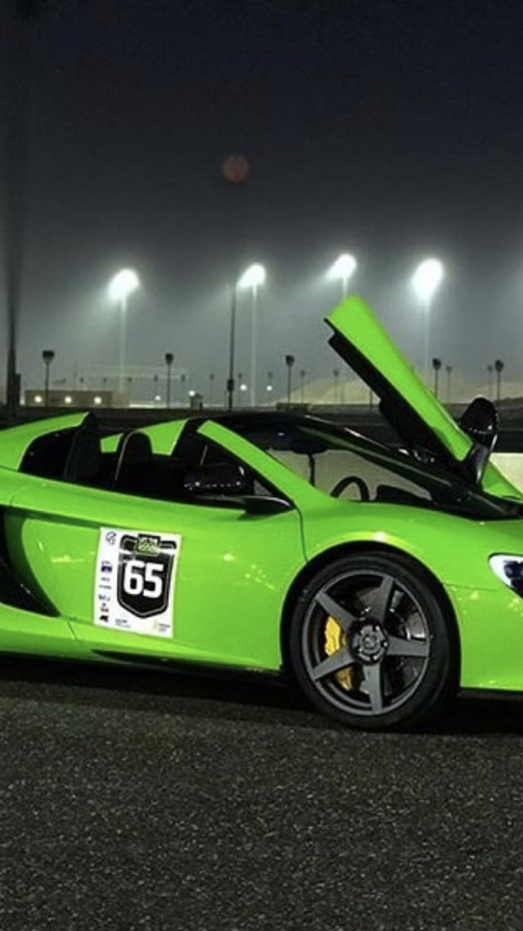 2015 green McLaren 650S spider  picture, mods, upgrades
