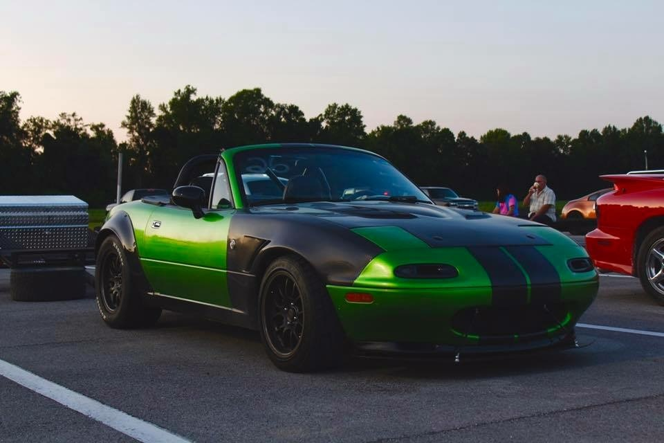 Synergy green 1992 Mazda Miata MX5 418 ls3