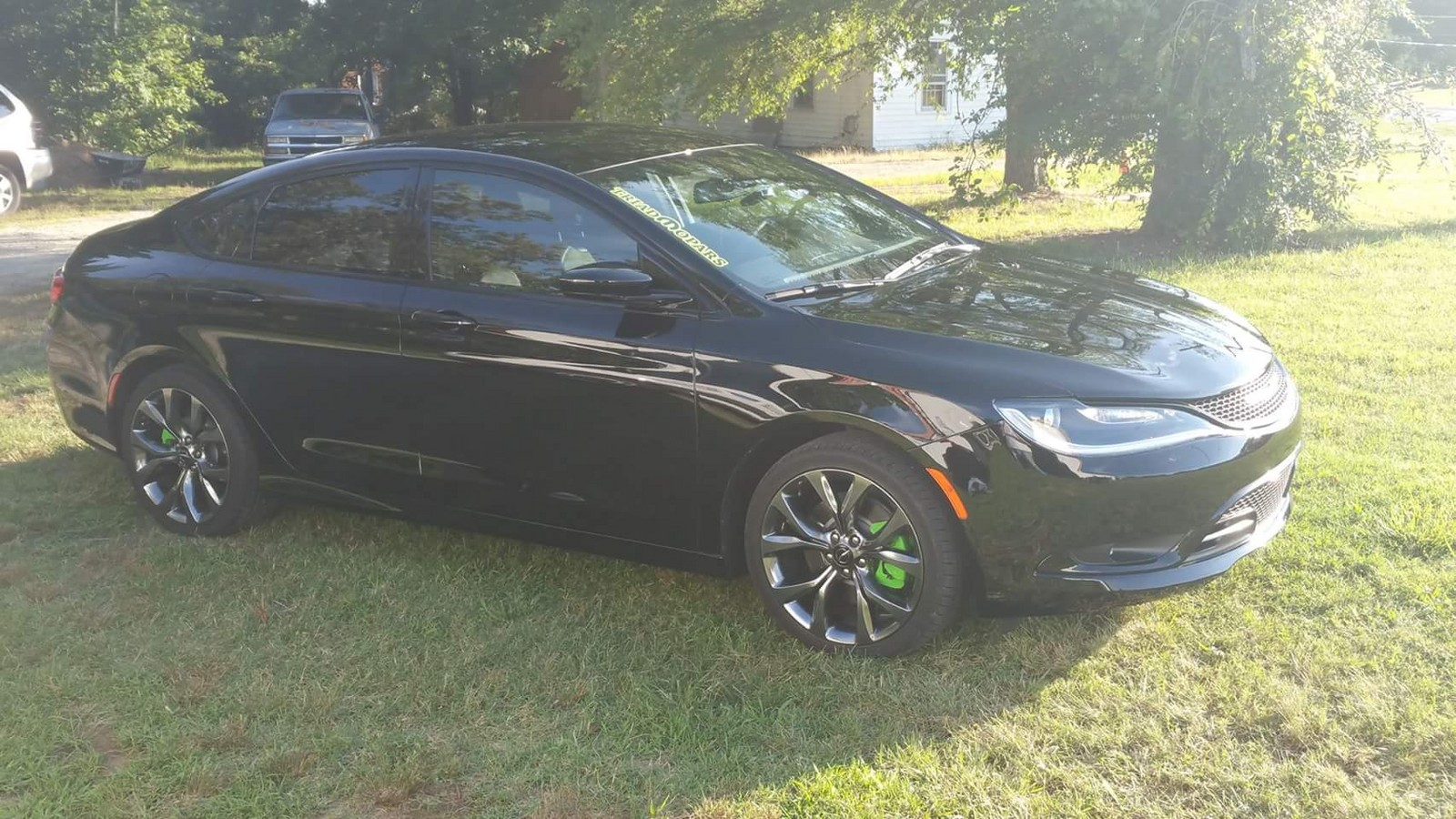 Black 2016 Chrysler 200 S