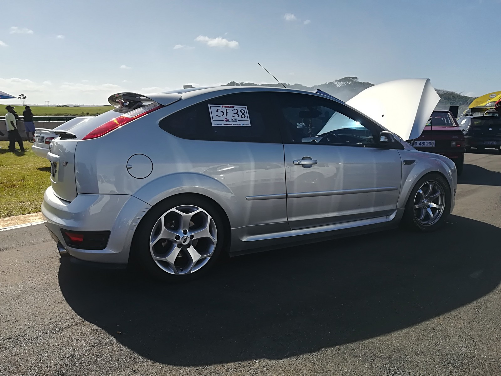Silver 2008 Ford Focus ST
