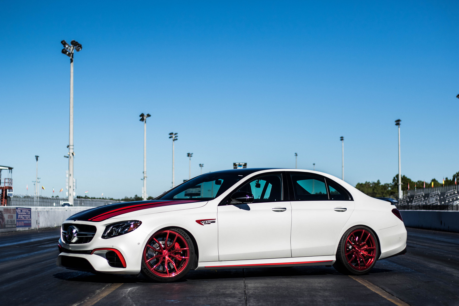 2018 White Mercedes-Benz E63 AMG S picture, mods, upgrades
