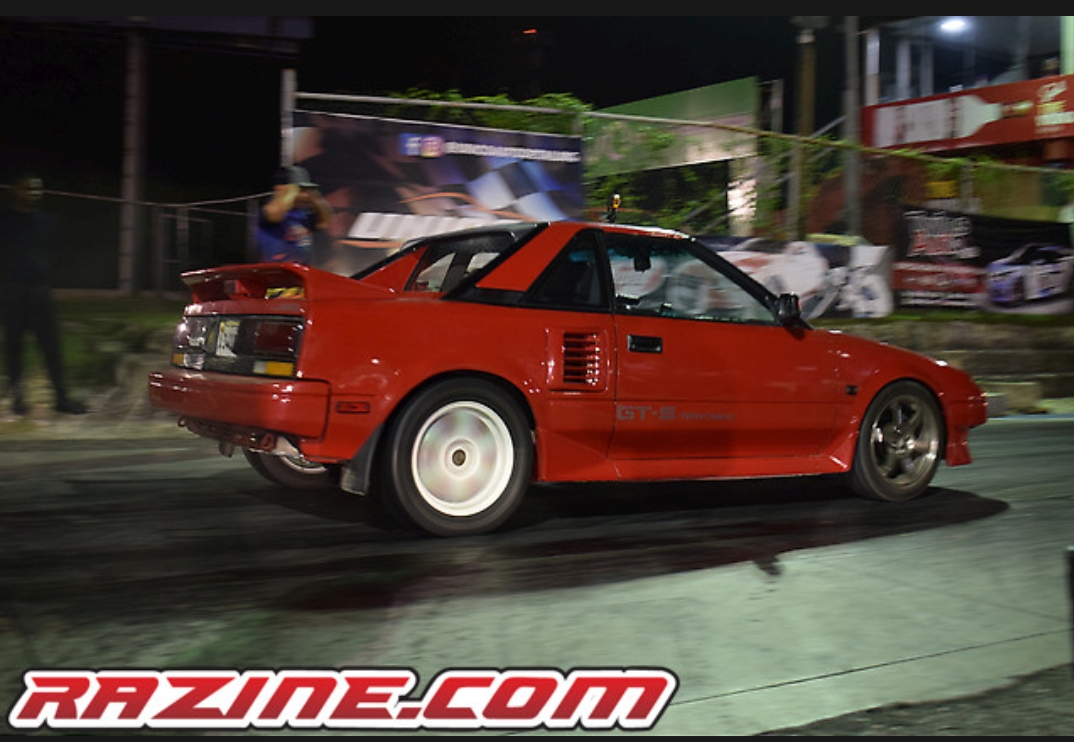 1986 Red Toyota MR2  picture, mods, upgrades