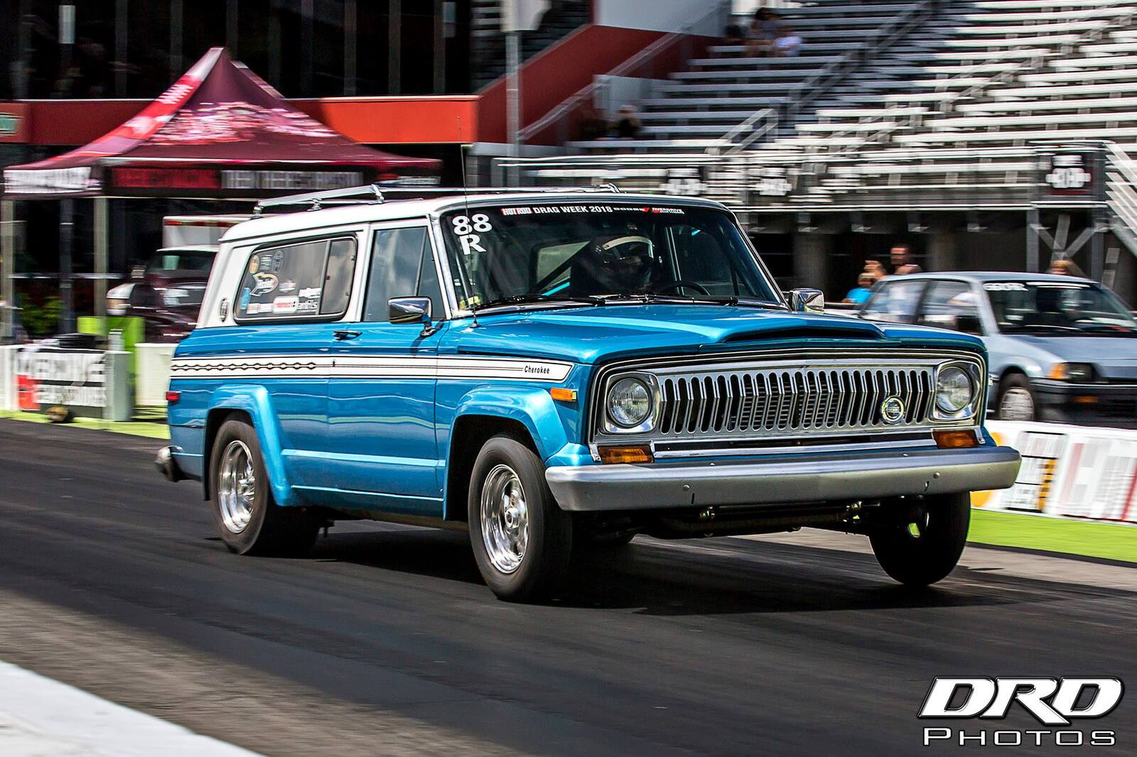 B5 Blue 1975 Jeep Cherokee S