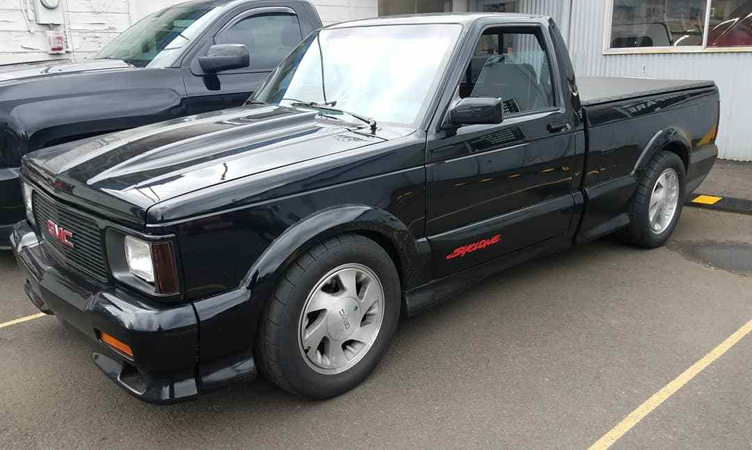 1991 Black GMC Syclone  picture, mods, upgrades