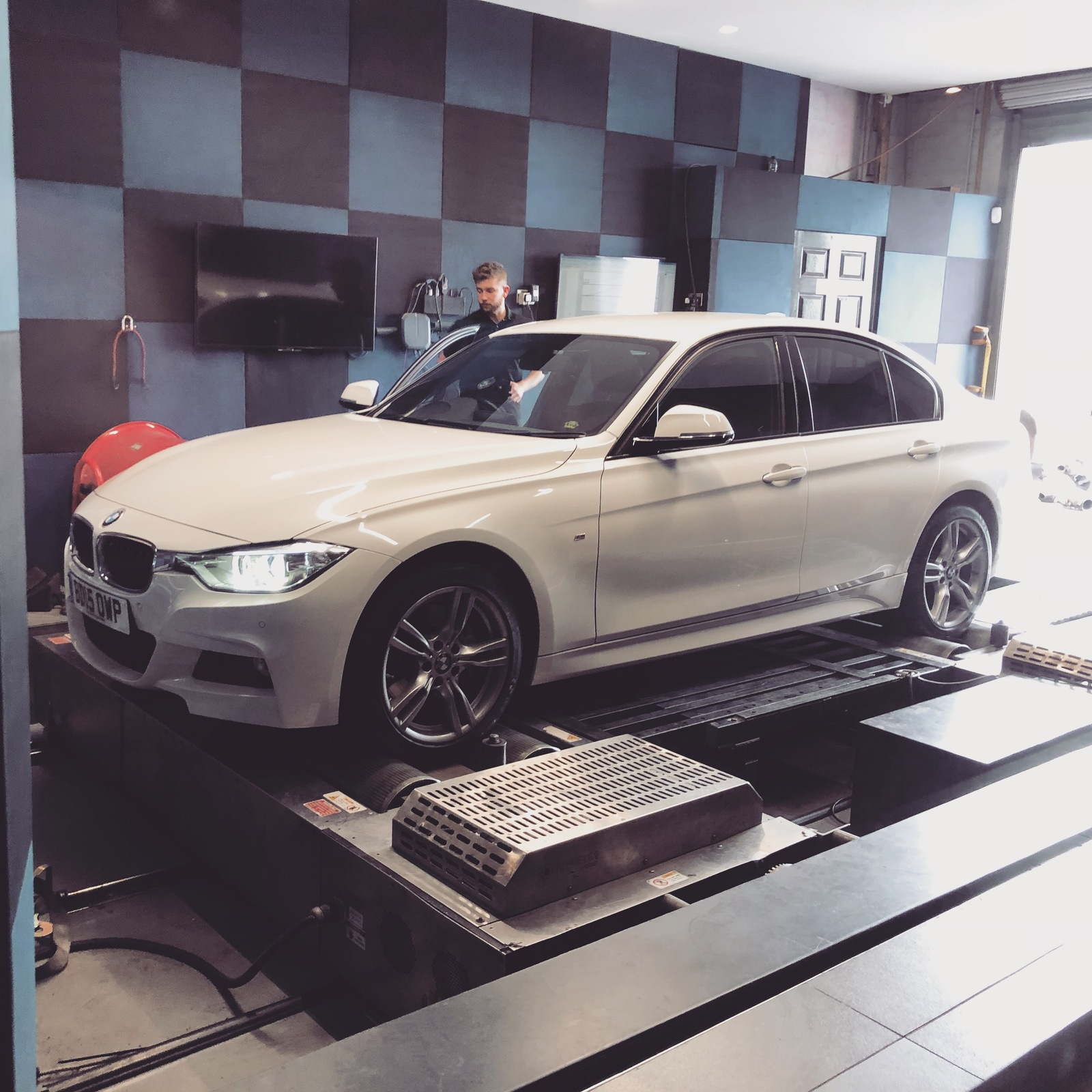 2015 Alpine White BMW 335d F30  picture, mods, upgrades