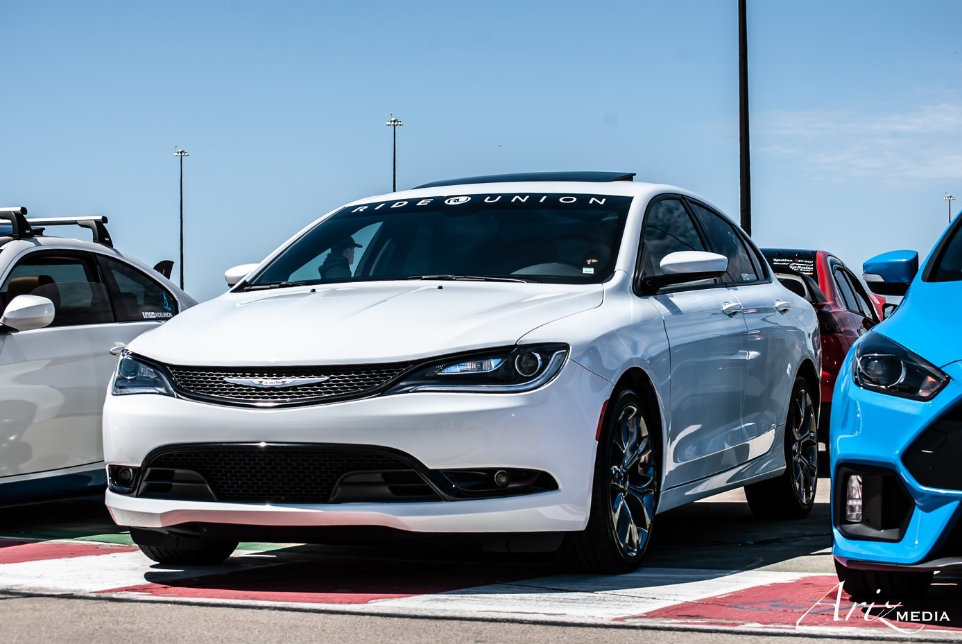 2016 Bright White Chrysler 200 S picture, mods, upgrades