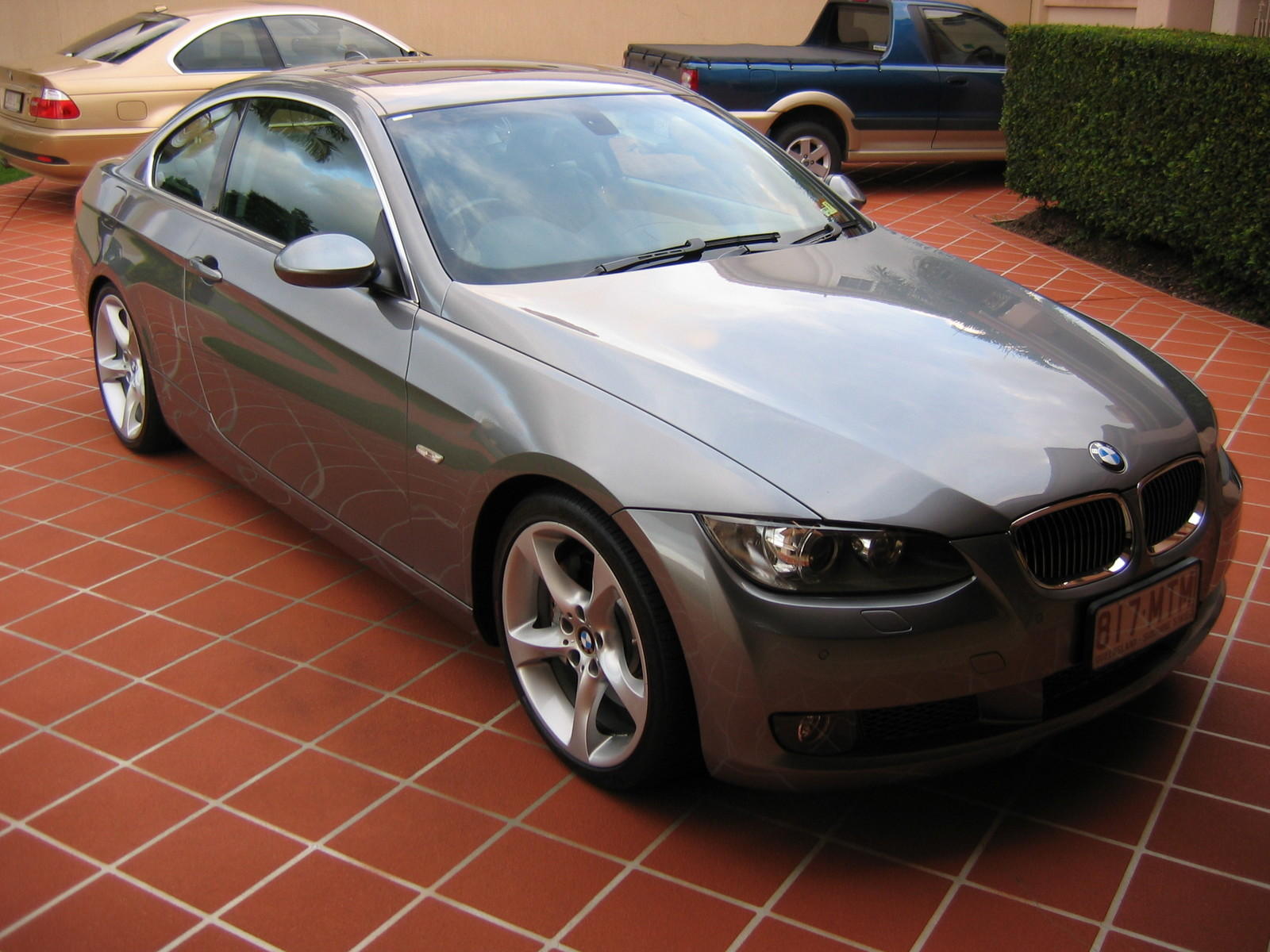 Space Grey 2007 BMW 335i Coupe
