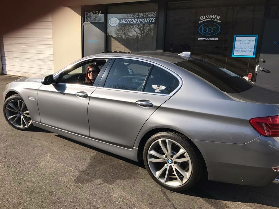 2014 Space Grey BMW 535d  picture, mods, upgrades