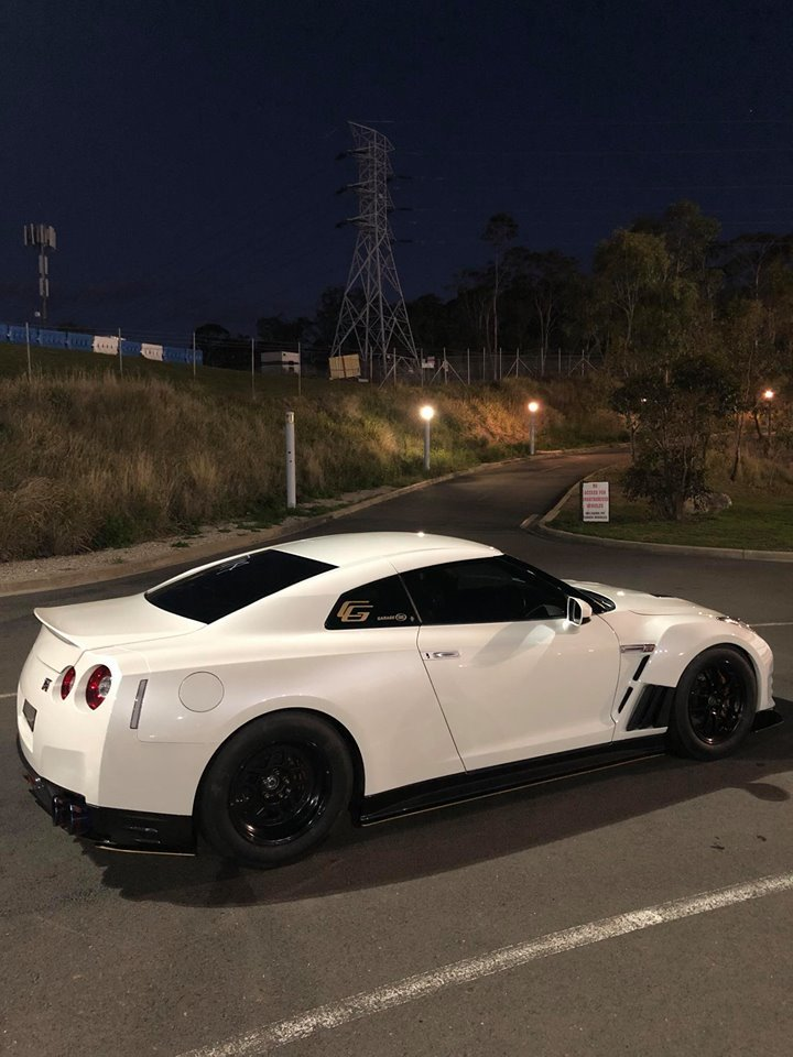 2012 White Nissan GT-R  picture, mods, upgrades