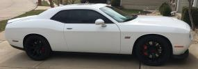 White 2016 Dodge Challenger SRT 392
