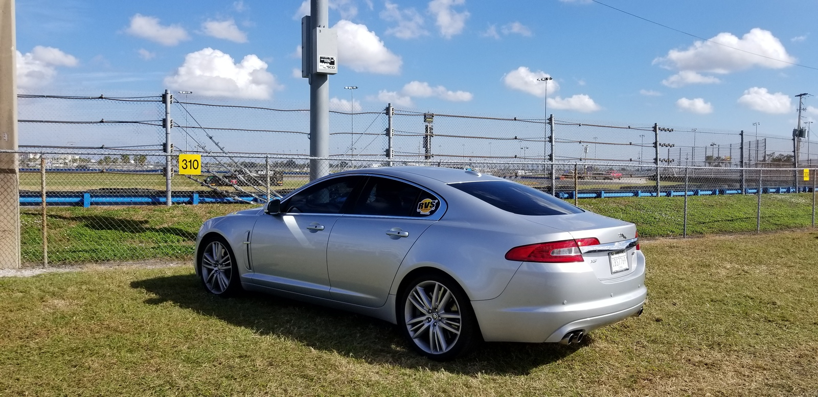 Silver  2010 Jaguar XF 5.0 Supercharged
