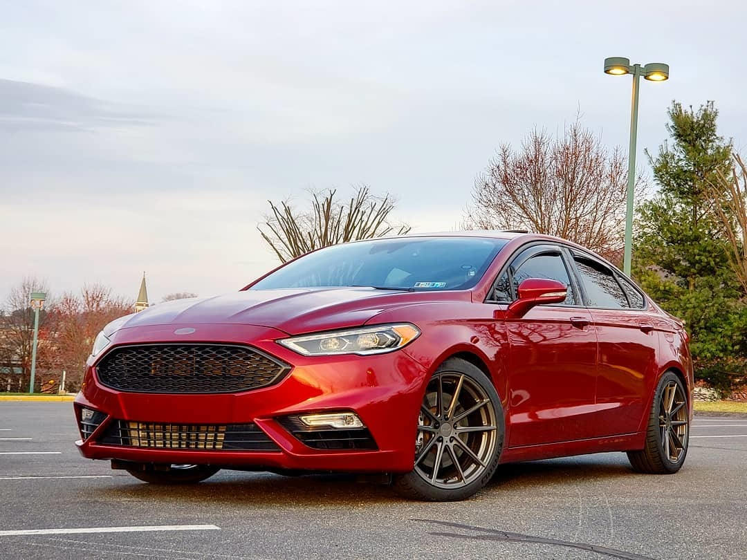 Ruby Red 2018 Ford Fusion Sport