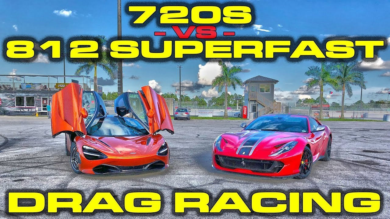 2018 Red Ferrari 812 Superfast  picture, mods, upgrades