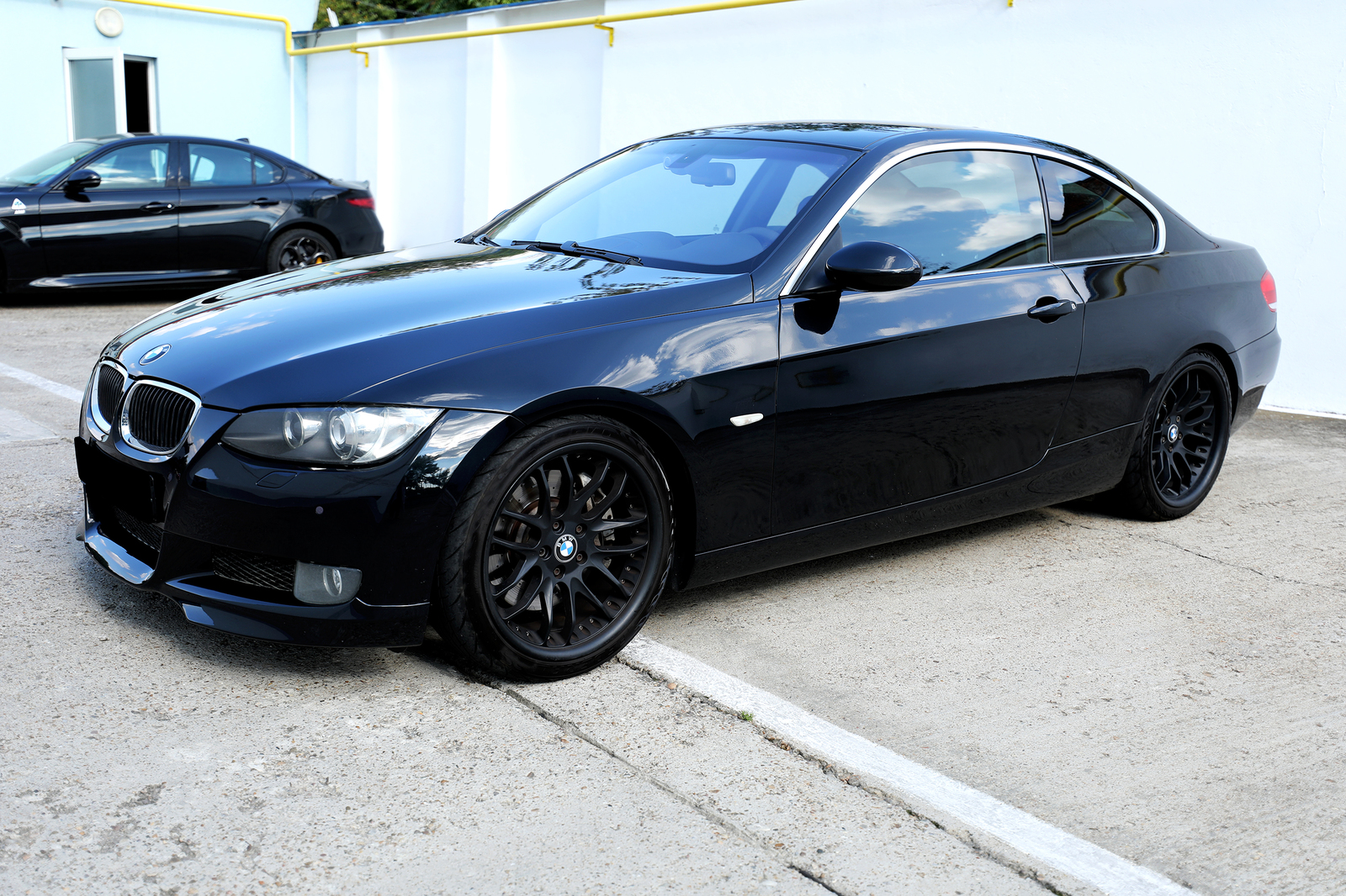 Black 2007 BMW 335xi A-Team Performance STG2+