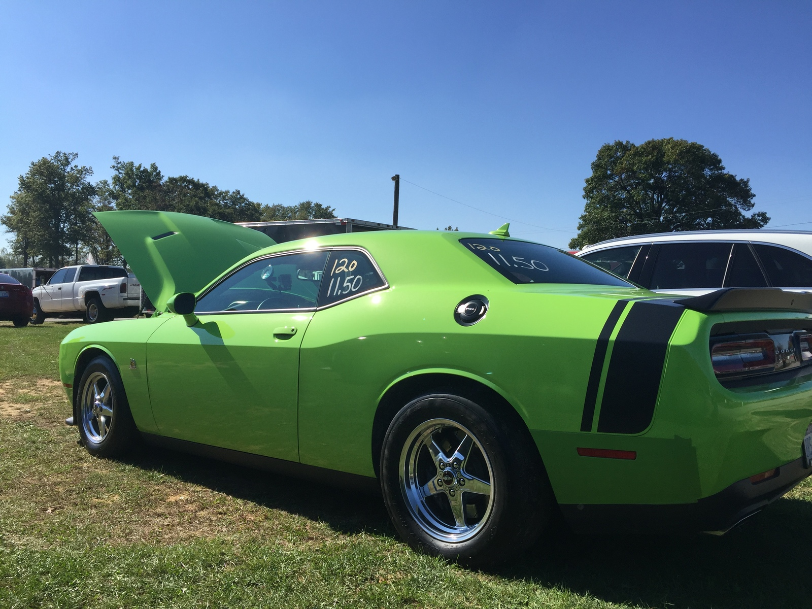 2015 Sublime Green Dodge Challenger Scat Pack picture, mods, upgrades