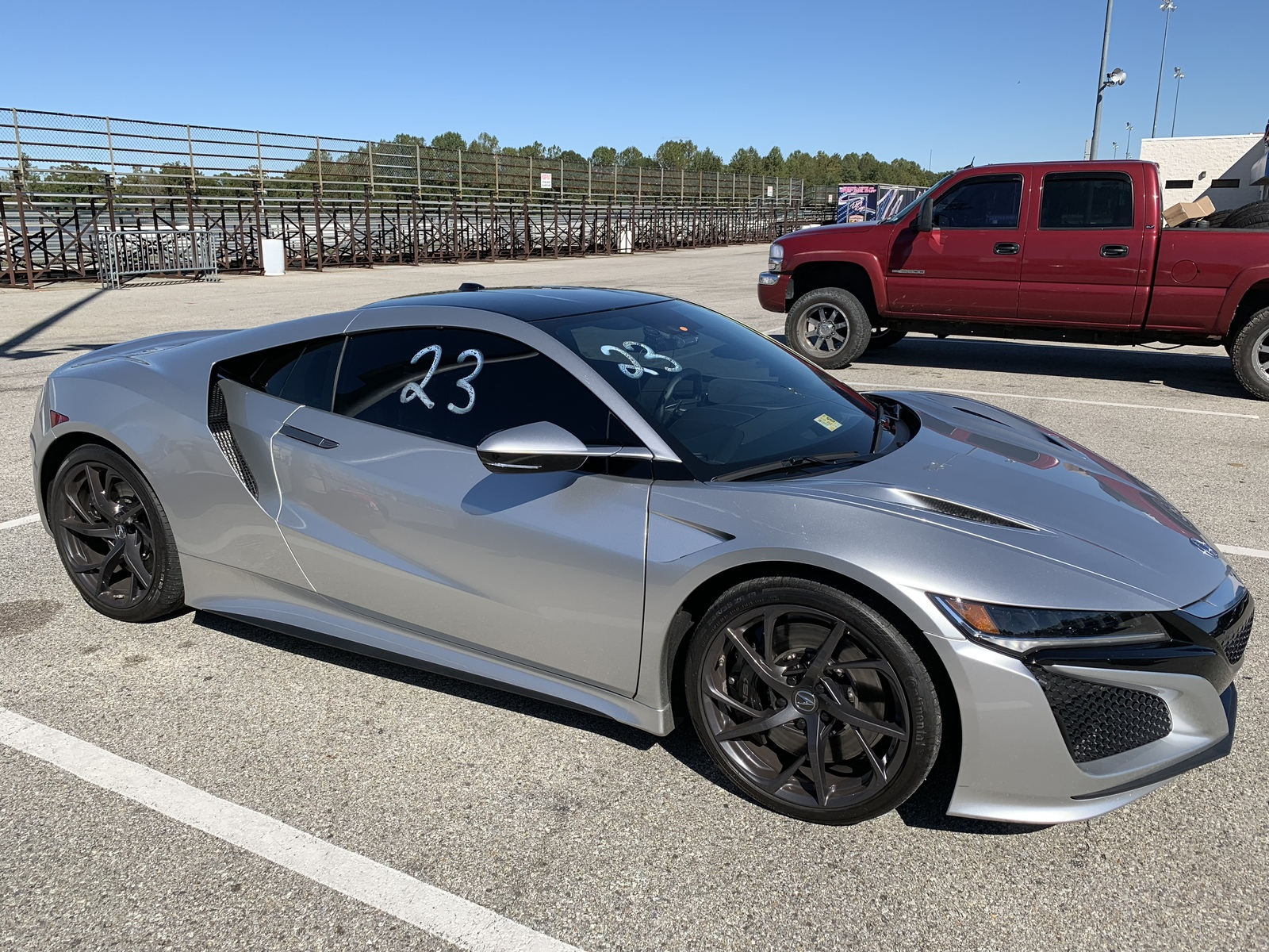 2017 Silver Acura NSX  picture, mods, upgrades