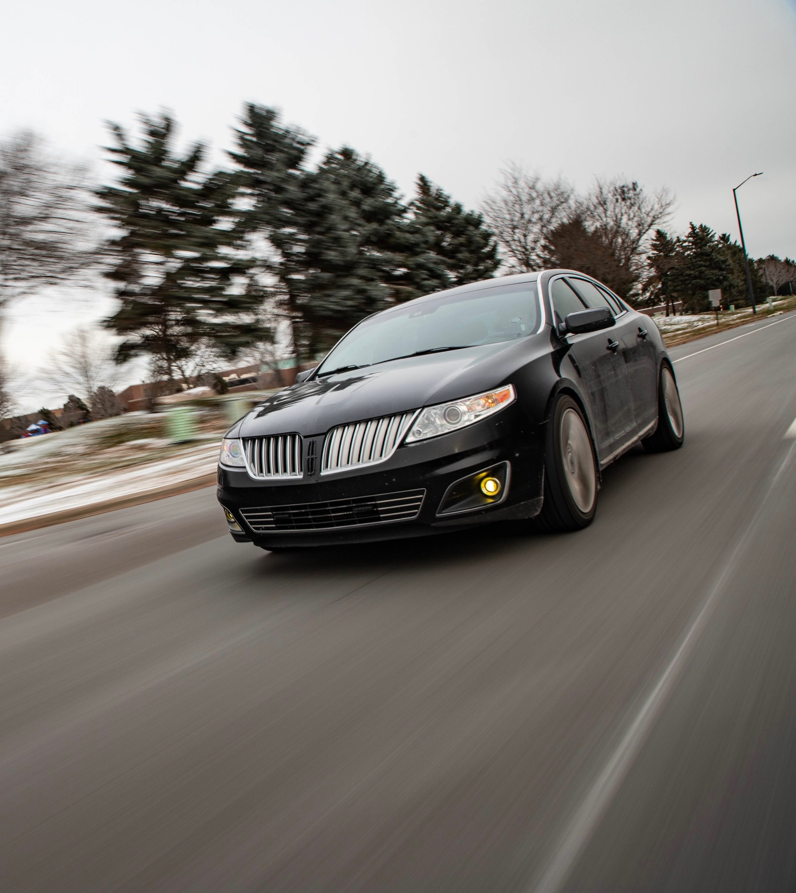 2010 Black Lincoln MKS EcoBoost picture, mods, upgrades