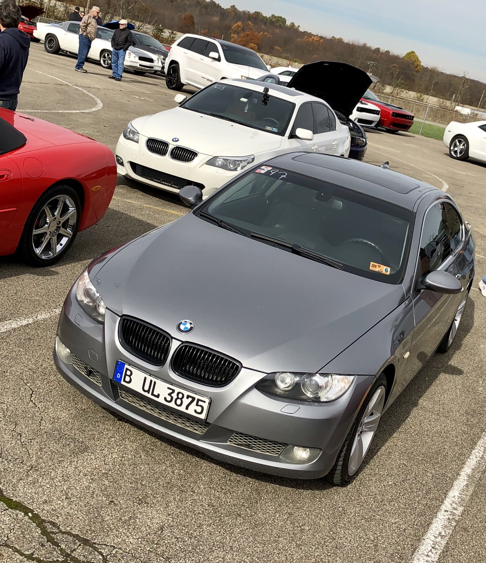 2008 Space Grey BMW 335xi E92 picture, mods, upgrades