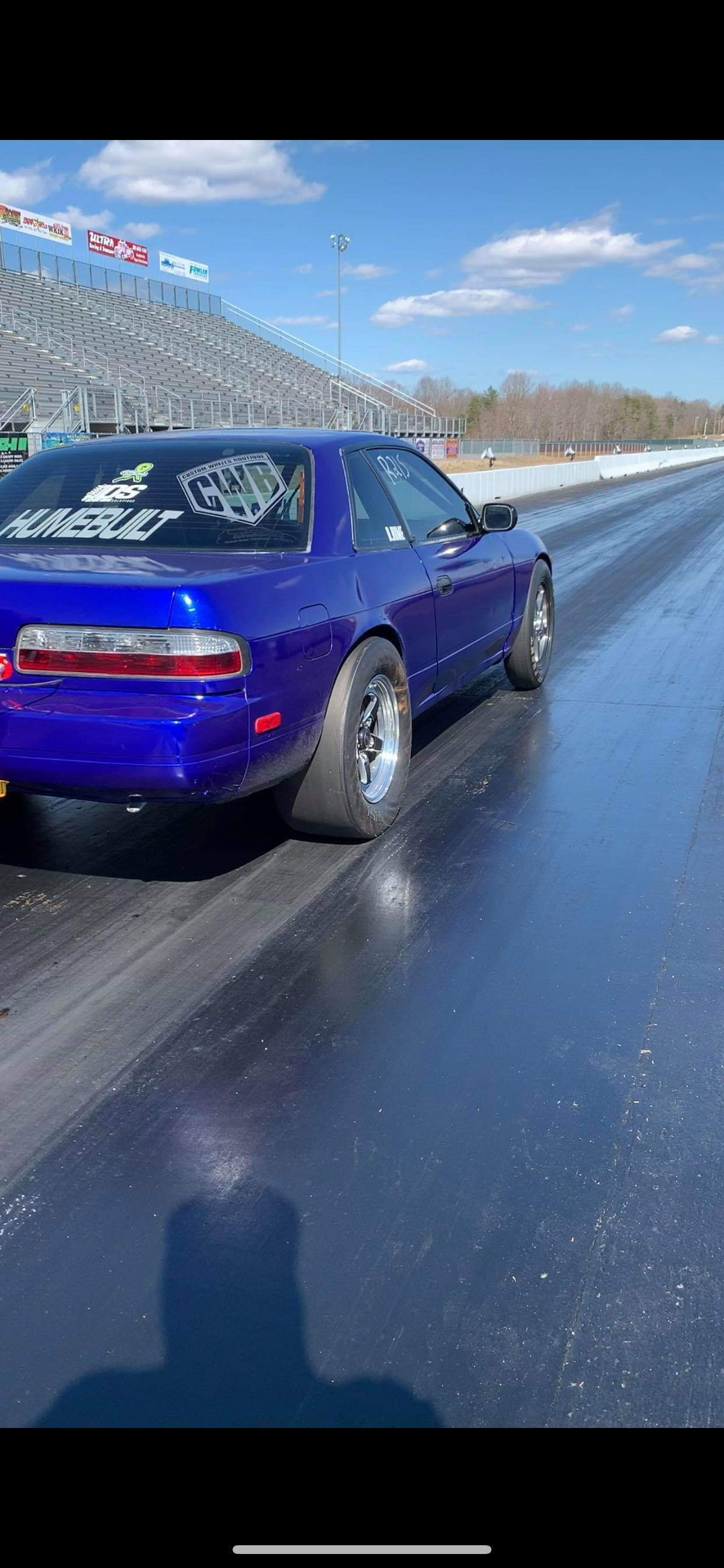 1990 Blue raspberry Nissan 240SX  picture, mods, upgrades