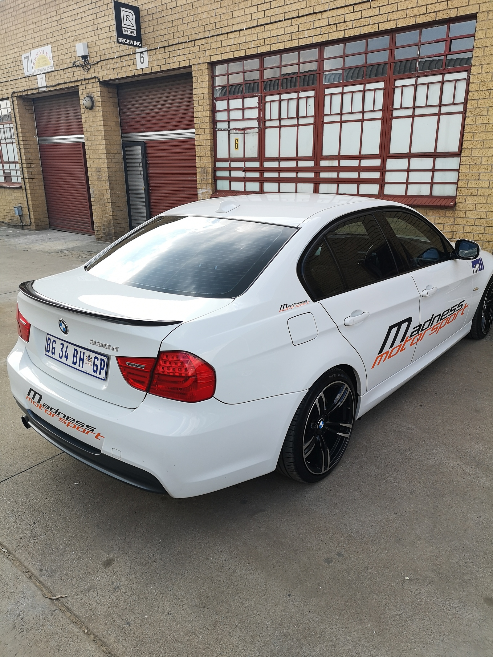2011  BMW 330d  picture, mods, upgrades