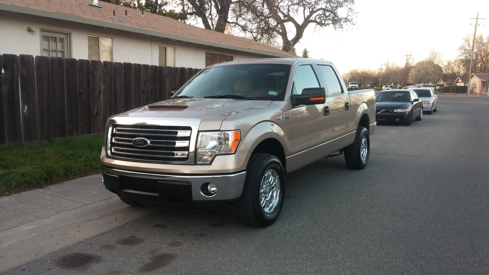 2012 Tan Ford F150 XLT picture, mods, upgrades