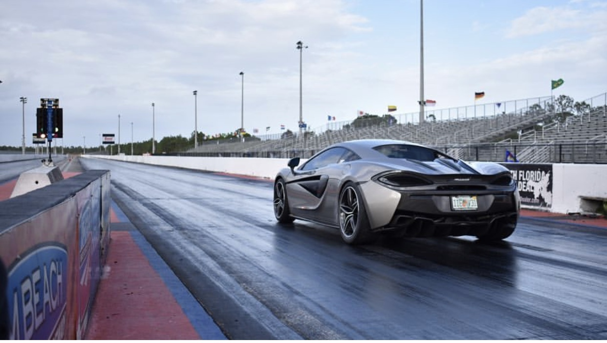 2016 Silver McLaren 570S Excell Racing picture, mods, upgrades