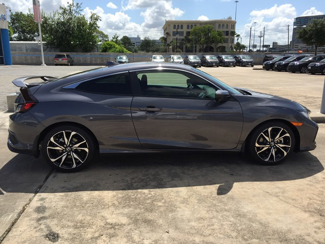 Grey 2018 Honda Civic SI