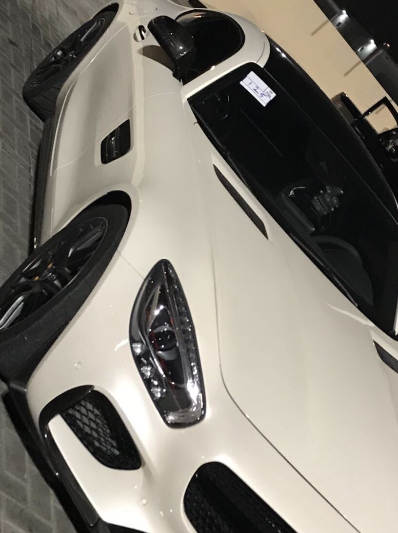 WHITE 2016 Mercedes-Benz AMG GTS GTS