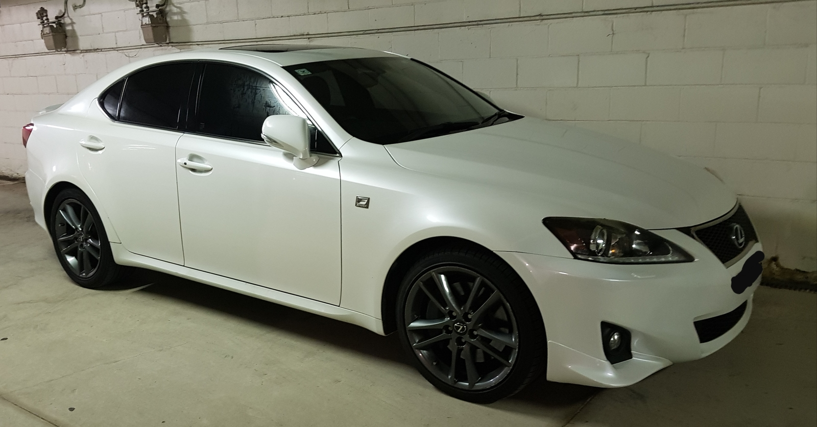 White 2011 Lexus IS350 F Sport